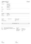 Sample Příjmový doklad (EET)